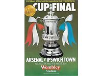 Arsenal v Ipswich 1978 FA Cup Final programme, used for sale  Kilburn, London