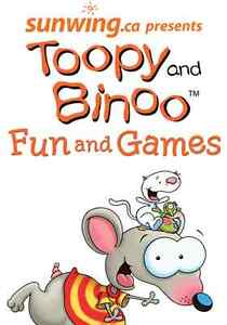 Toopy & Binoo - Nov 6 @ 1PM, Cohn - Centre Front Row, $50/ea