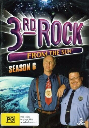 3rd Rock From The Sun : Season 6 (DVD, 2011, 3 Disc Set)     Brand New Sealed