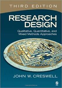 Research Design- John Creswell!