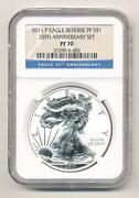 2011 25th Anniversary Silver Eagle Set