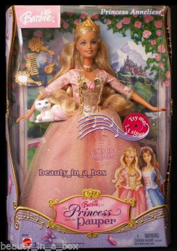 Barbie Princess and The Pauper | eBay