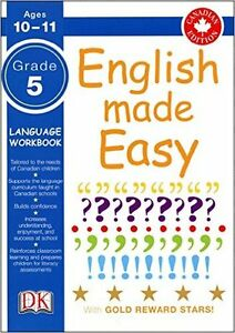 ▀▄▀English Made Easy Grade 5 (unread, unused book)
