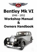 Bentley Owners Manual