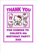 Personalised Hello Kitty Bag