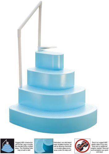 Steps For Above Ground Pool Ebay