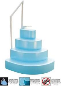 steps for above ground pool - Above Ground Wedding Cake Pool Steps
