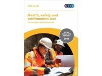 CSCS Card Citb Health, Safety and Environment Test for Managers and Professionals book & DVD