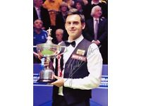 World Snooker Championship Tickets - Collect Chesterfield / Crucible Theatre Sheffield !!LOOK!!