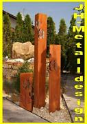 Metall skulptur garten ebay for Gartenskulpturen metall rost