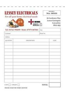 Invoice Book Office Supplies Stationery EBay - How to use an invoice book