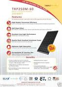 PV Solar Panels 250