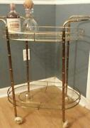 Glass Bar Cart
