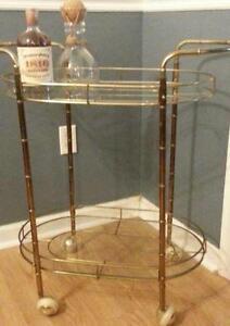 Vintage Bar Cart >> Bar Cart Ebay