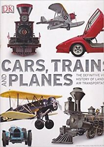 Cars,Trains & Planes-Def.History Hardcover Book-New + bonus