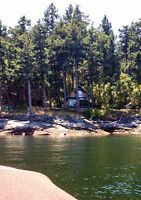 Gulf Islands walk-on waterfront cottage for sale - Ruxton Island
