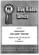 Cub Cadet 125 Tractor