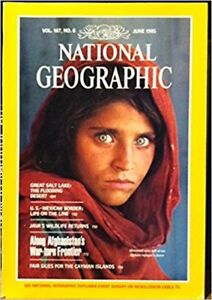 Over 100 National Geographic magazines