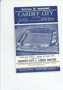 Football Programmes Leeds
