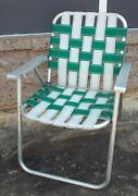 Vintage Aluminum Chair