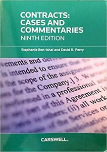 Contracts: Cases and Commentaries, Ninth Edition