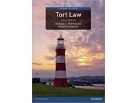 Tort Law (5th edition) by McBride and Bagshaw