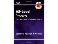 Physics AS-Level Revision guide for sale  Cambridgeshire