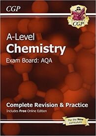 New A-Level Chemistry: AQA Year 1 & 2 Complete Revision & Practice