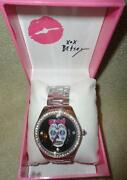 Betsey Johnson Black Watch