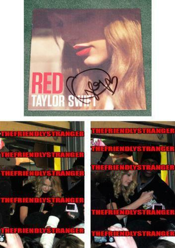 Taylor Swift Red Signed | eBay