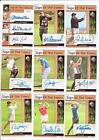 Autographed Golf Cards