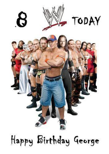 Wwe party ebay wwe birthday bookmarktalkfo Image collections