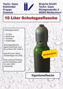 Schutzgasflasche