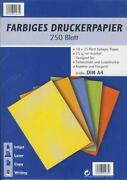Farbiges Druckerpapier