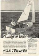 O'day Sailboat
