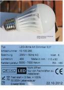 LED Dimmbar