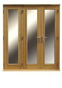 Folding Patio Doors In Oak Folding Patio Doors Ebay