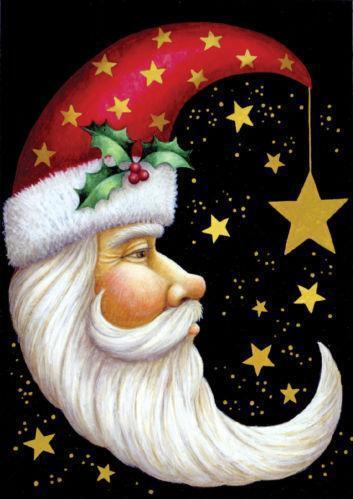 Santa Claus Flag Ebay
