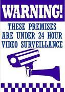 Security Camera Sign