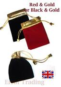 Gold Drawstring Bag