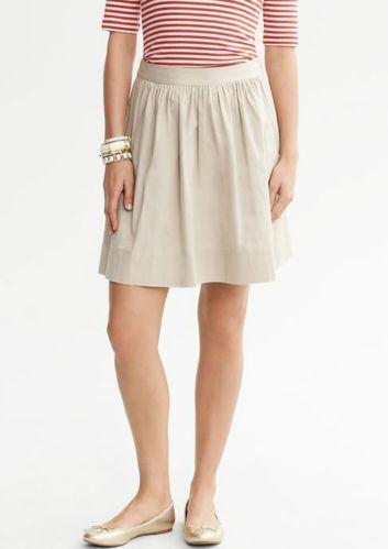 Women'S Plus Size Khaki Skirt 28
