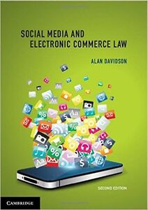 Social Media and Electronic Commerce Law 2nd ed Alan Davidson