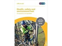 CITB Health, Safety and Environment Test for Operatives and Specialists: GT 100/16 2016