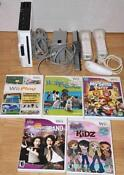 Nintendo Wii White Console with Games