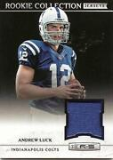 Andrew Luck Jersey Card