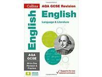 GCSE AQA English Literature and Language Collins revision guide