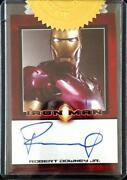 Robert Downey Jr Autograph