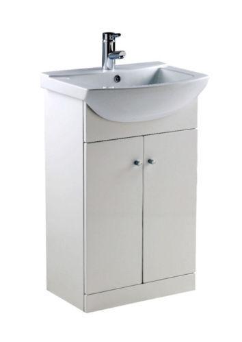 Ikoma White Gloss Vanity Unit