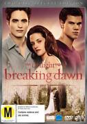 Twilight Breaking Dawn Part 2 DVD