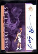 Tracy McGrady Auto